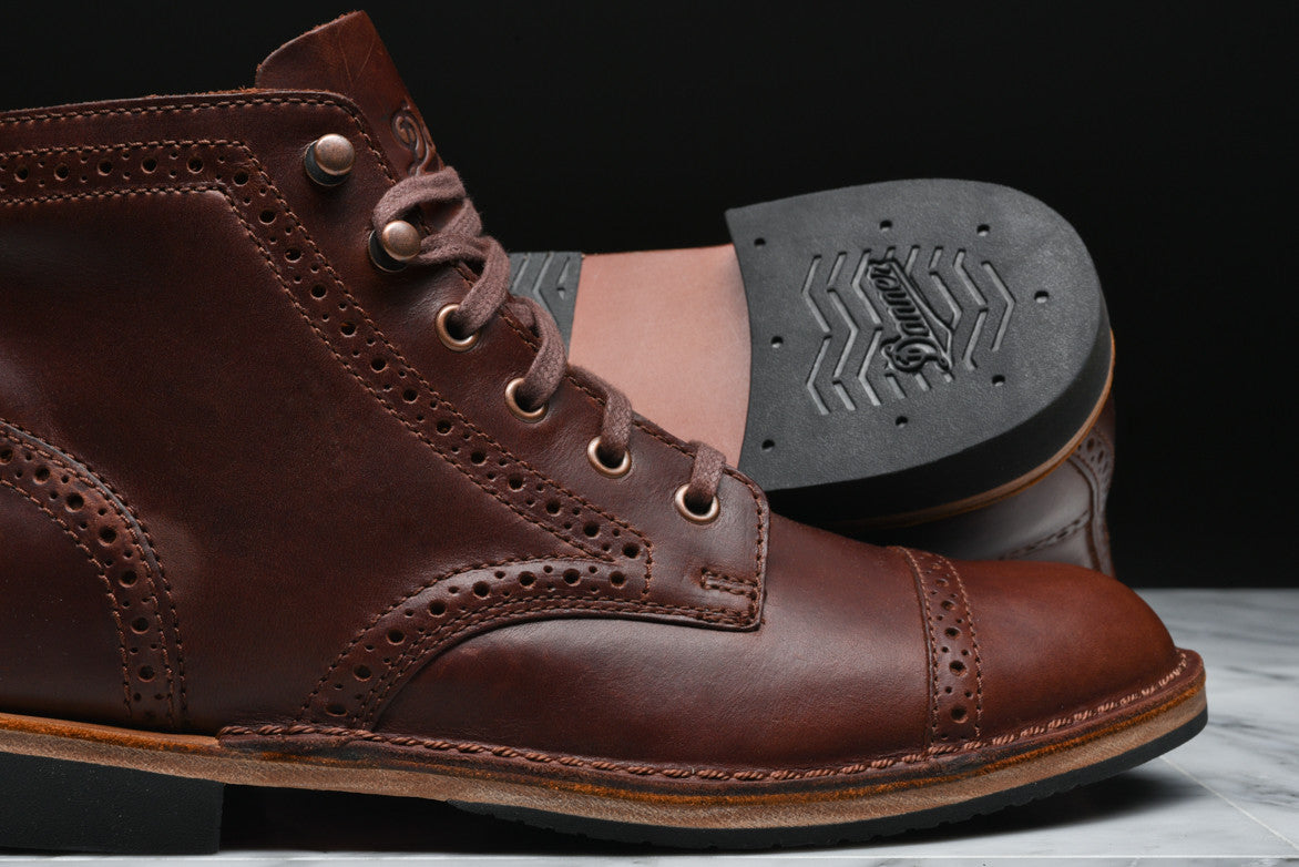 JACK II BROGUE - DARK COFFEE