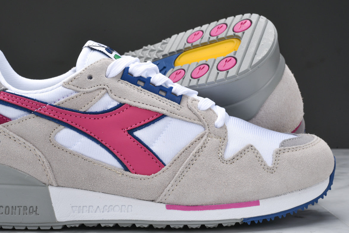 I.C. 4000 NYL - WHITE / SHOCKING PINK