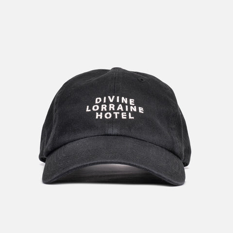 DIVINE POLO HAT - BLACK