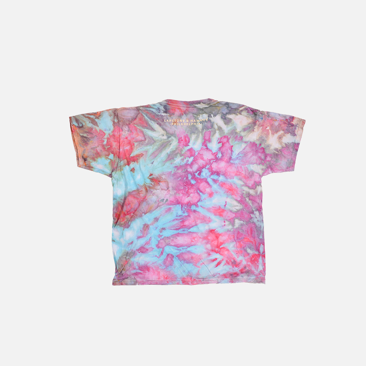"DIVINE HAND-DYED YOUTH TEE ""PINK GALAXY"""