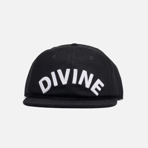 DIVINE WOOL HAT - BLACK