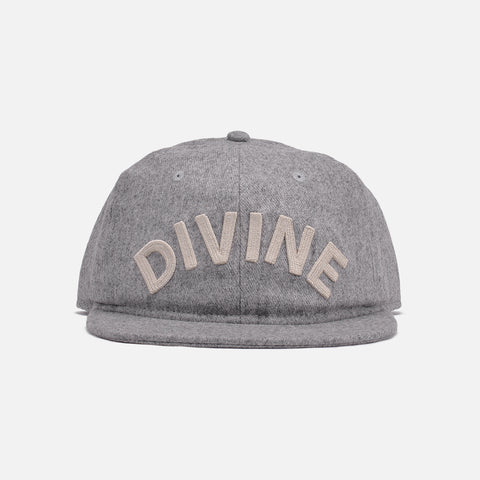 DIVINE WOOL HAT - GREY