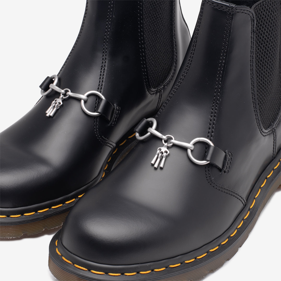 "NEEDLES X DR. MARTENS 2976 SNAFFLE ""BLACK"""