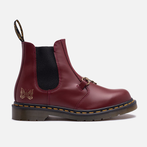 "NEEDLES X DR MARTENS 2976 SNAFFLE ""CHERRY RED"""