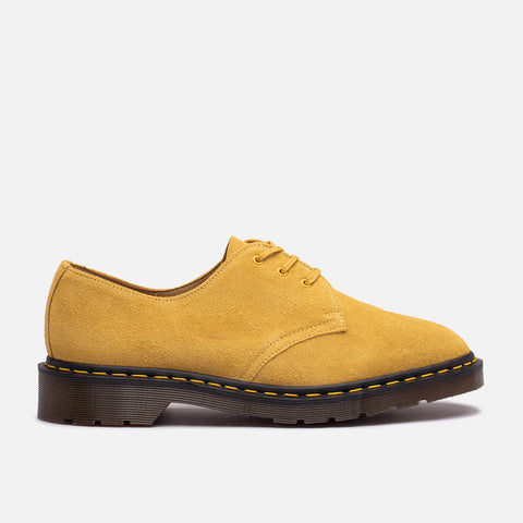 1461 MADE IN ENGLAND SUEDE - SUN YELLOW