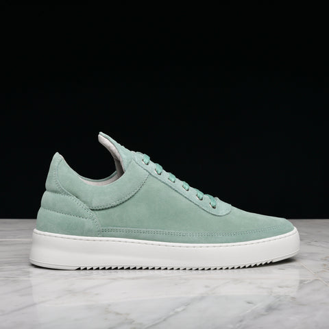 LOW TOP RIPPLE LANE SUEDE - AQUA GREEN