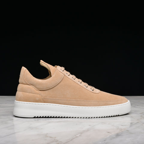 LOW TOP RIPPLE LANE SUEDE - OFF WHITE