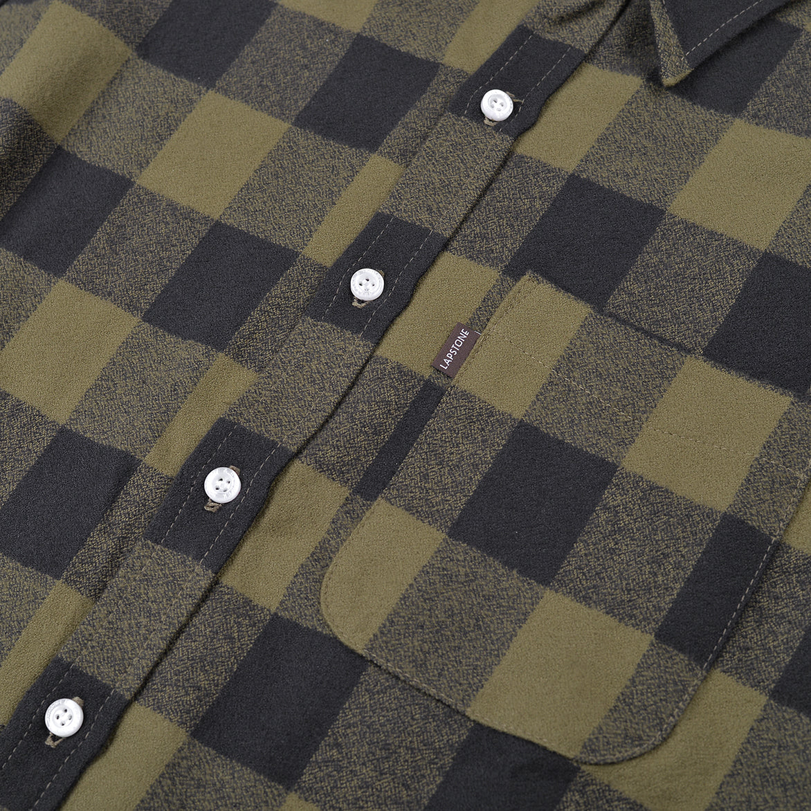 BUFFALO CHECK FLANNEL - OLIVE