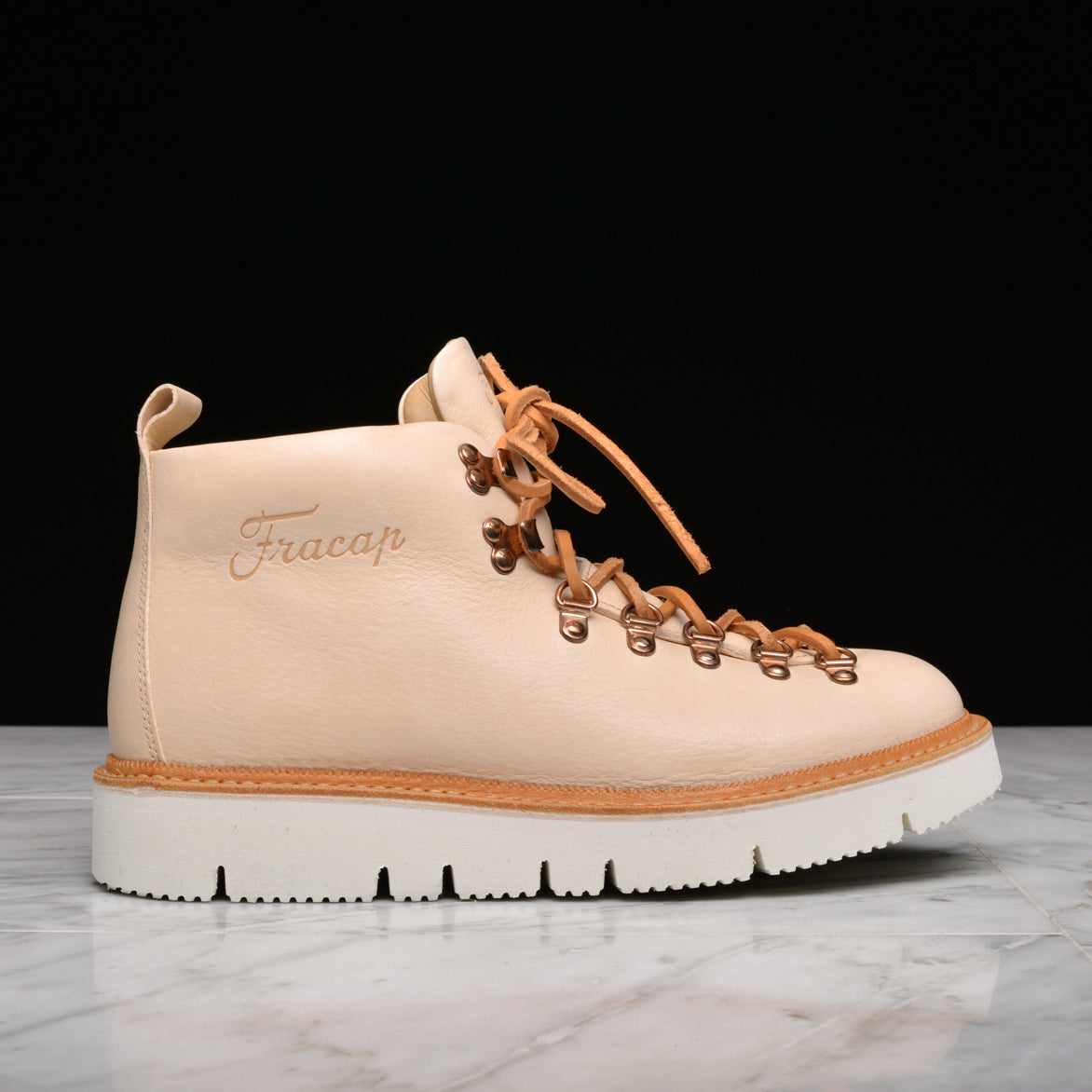 FRACAP FOR LAPSTONE & HAMMER M120 FUR-LINED CUT SOLE - NATURAL VEG TAN