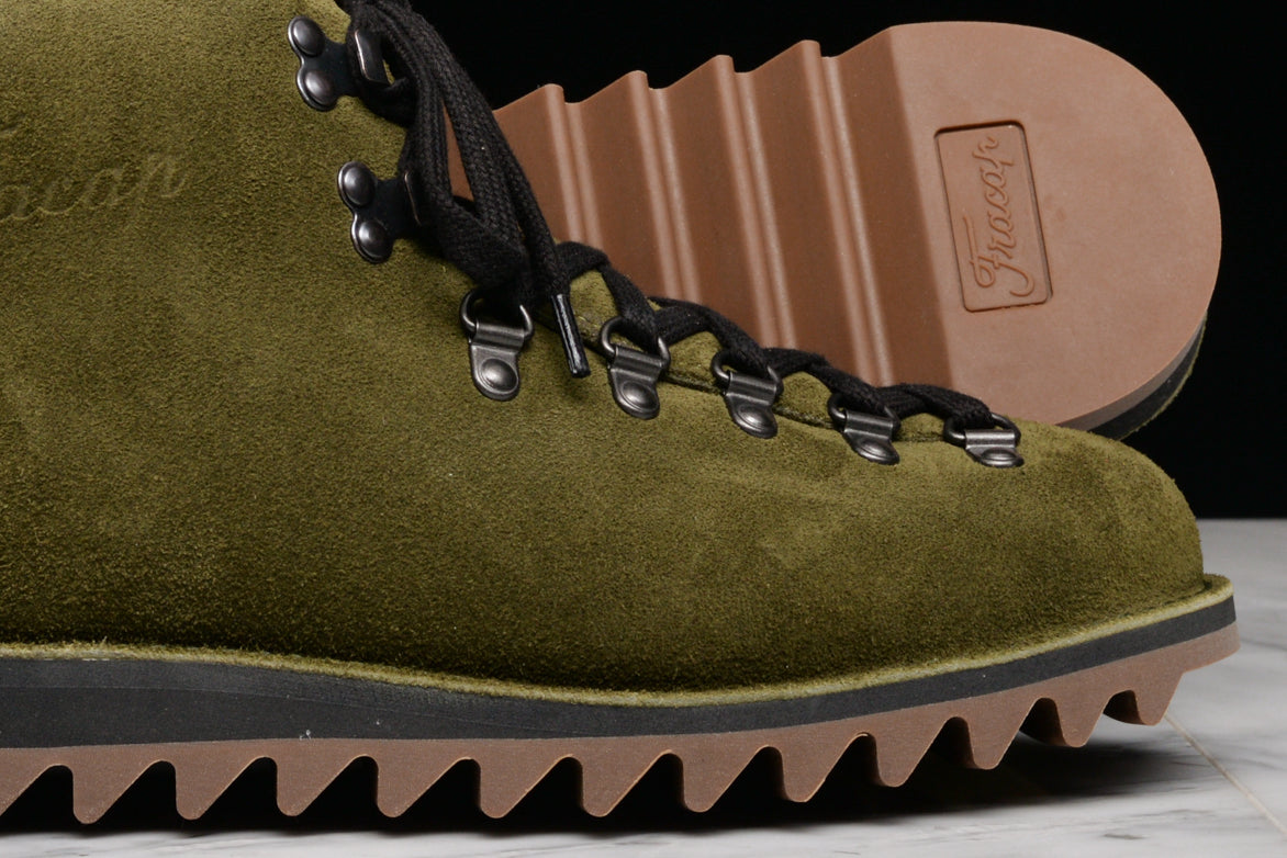 FRACAP FOR LAPSTONE & HAMMER M120 SUEDE RIPPLE SOLE - OLIVE