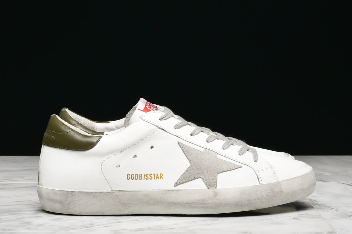 SUPERSTAR - WHITE / MILITARY GREEN