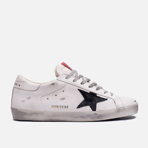 SUPERSTAR SHEARLING - WHITE / BLACK