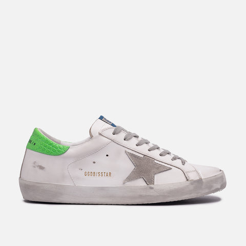 SUPERSTAR CLASSIC - WHITE / ICE / FLUORESCENT GREEN