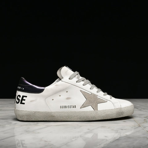 SUPERSTAR - WHITE / PURPLE METALLIC*