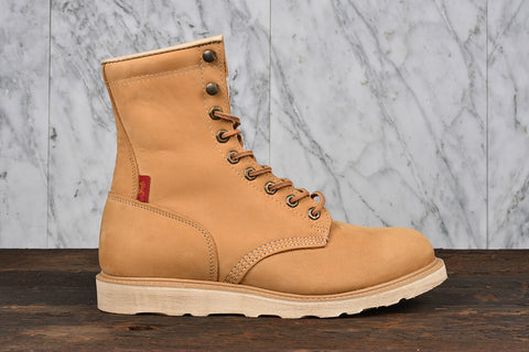GORILLA HI BOOT - WHEAT NUBUCK