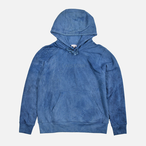 FRENCH TERRY HOODIE - INDIGO