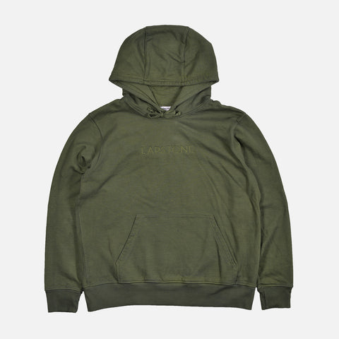 FRENCH TERRY HOODIE - OLIVE
