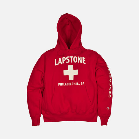 LAPSTONE LIFE HOODIE - RED