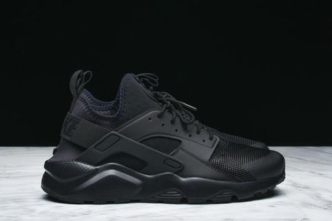 "AIR HUARACHE RUN ULTRA ""TRIPLE BLACK"""