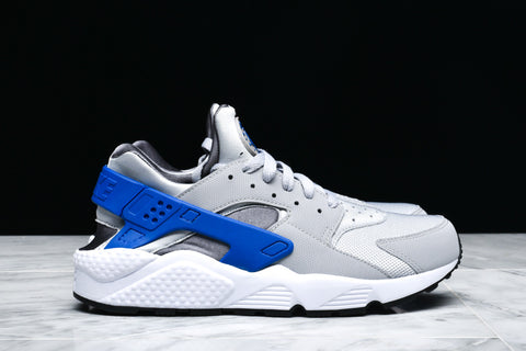 AIR HUARACHE RUN - WOLF GREY / GAME ROYAL