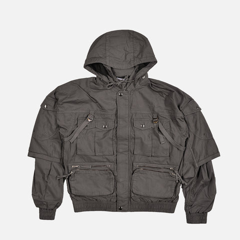 CANOPY PARACHUTE BOMBER - CHARCOAL