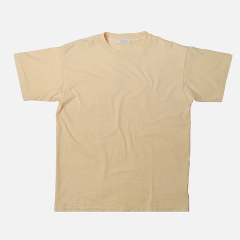 UNIVERSITY TEE - LIGHT YELLOW