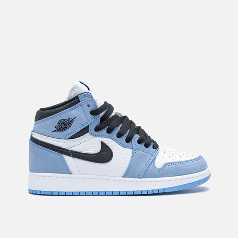 "AIR JORDAN 1 RETRO HIGH OG (GS) ""UNIVERSITY BLUE"""