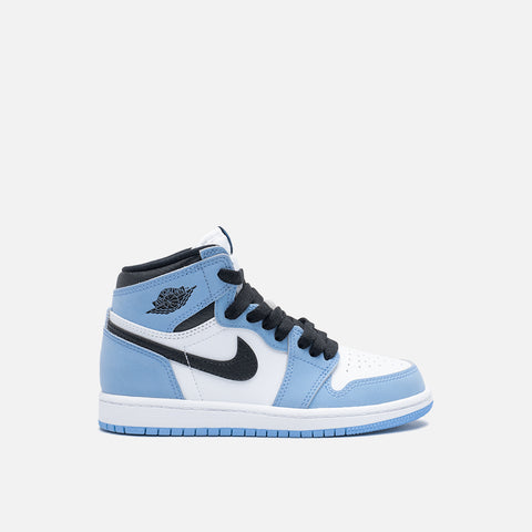 "AIR JORDAN 1 RETRO HIGH OG (PS) ""UNIVERSITY BLUE"""