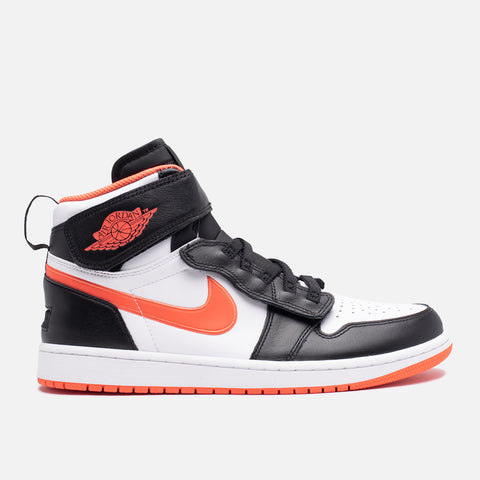 AIR JORDAN 1 HI FLYEASE - BLACK / TURF ORANGE / WHITE
