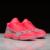 "AIR JORDAN 11 RETRO LOW IE ""HIGHLIGHTER PACK"" - FLASH CRIMSON"