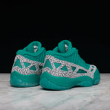 "AIR JORDAN 11 RETRO LOW IE ""HIGHLIGHTER PACK"" - RIO TEAL"