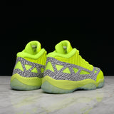"AIR JORDAN 11 RETRO LOW IE ""HIGHLIGHTER PACK"" - VOLT"