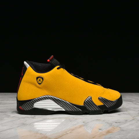 "AIR JORDAN 14 RETRO SE (GS) ""YELLOW FERRARI"""