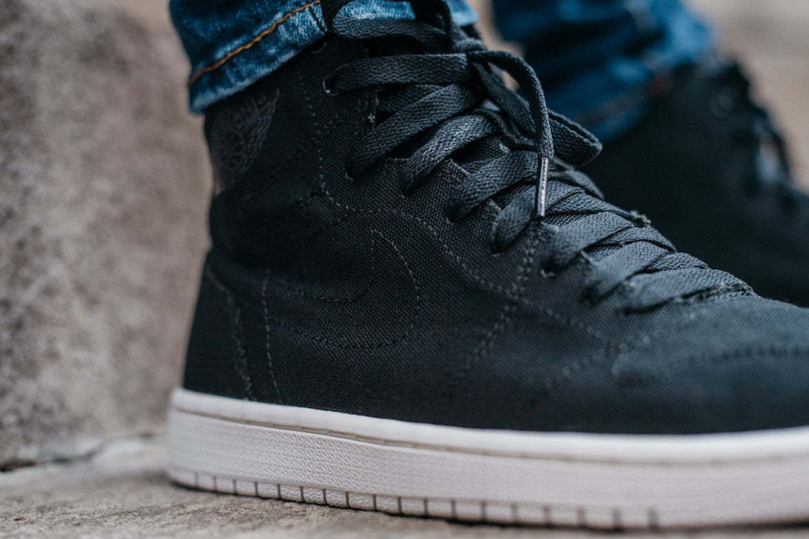 AIR JORDAN 1 RETRO HIGH DECONSTRUCTED - BLACK