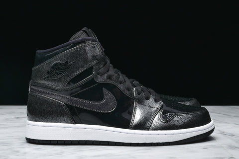 "AIR JORDAN 1 RETRO HIGH ""BLACK PATENT LEATHER"""