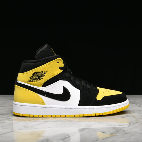 "AIR JORDAN 1 MID SE ""YELLOW TOE"""