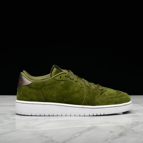 "AIR JORDAN 1 RETRO LOW ""NO SWOOSH"" HC - LEGION GREEN"