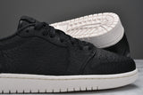 "AIR JORDAN 1 RETRO LOW ""NO SWOOSH"" - BLACK"