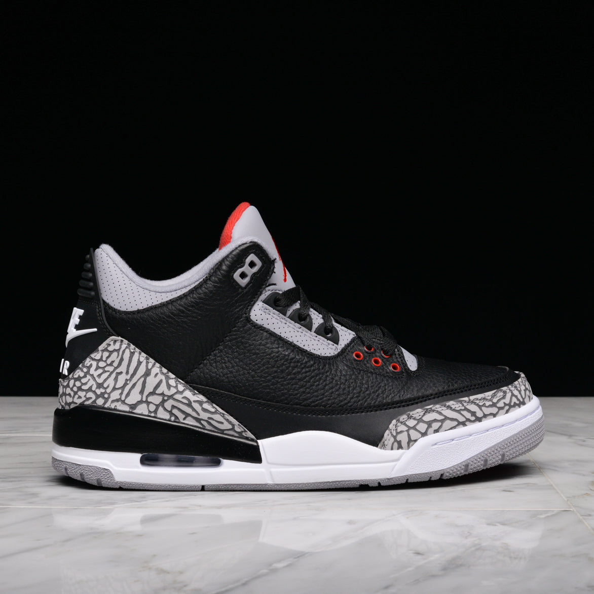 new product 3aa35 5a1f3 ... low cost air jordan 3 retro og black cement 6e0f1 da726
