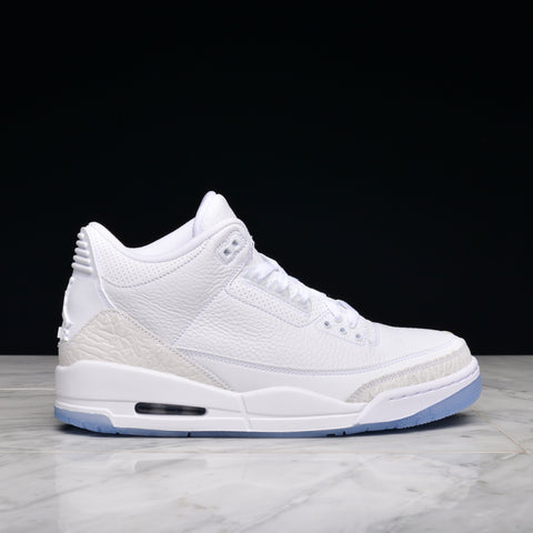 "AIR JORDAN 3 RETRO ""PURE WHITE"""