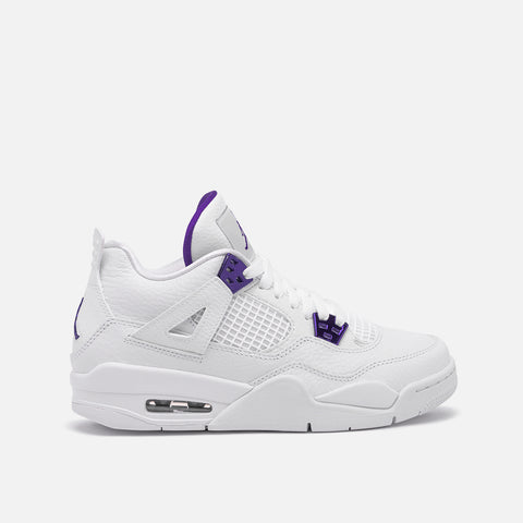 "AIR JORDAN 4 RETRO (GS) ""PURPLE METALLIC"""