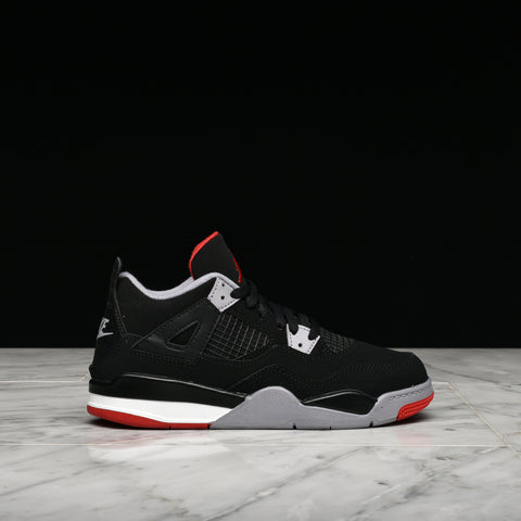 "AIR JORDAN 4 RETRO (PS) ""BRED"""