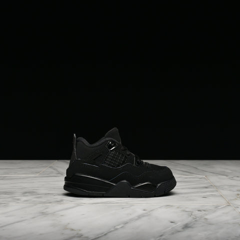 "AIR JORDAN 4 RETRO (TD) ""BLACK CAT"""