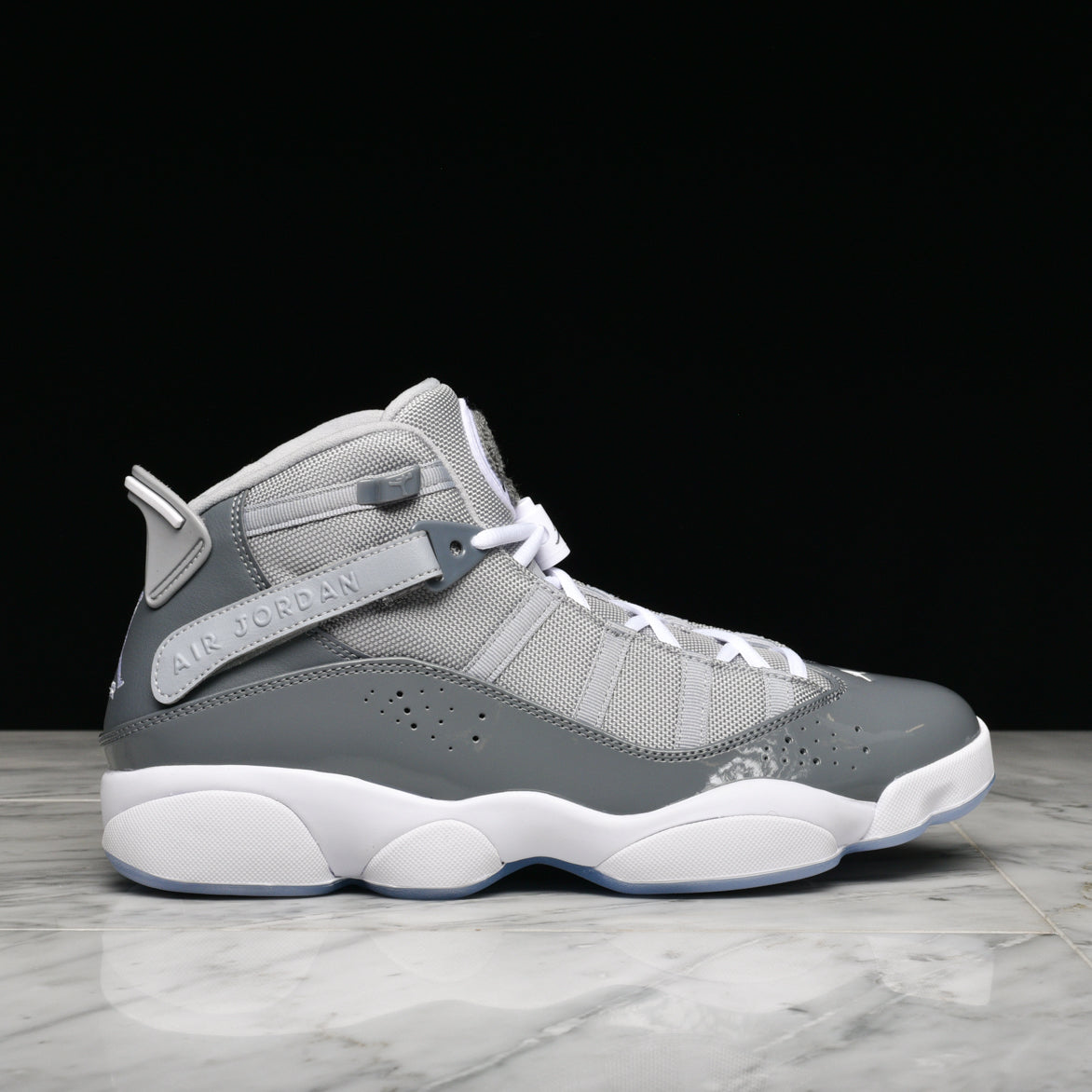9794b6b848d77d JORDAN 6 RINGS - COOL GREY   WOLF GREY