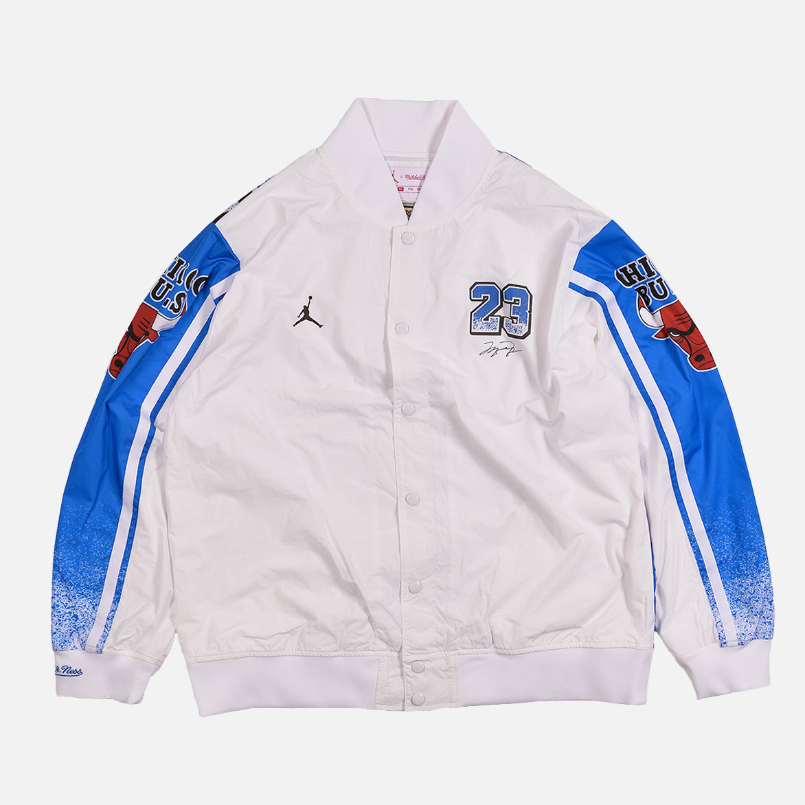 MITCHELL & NESS X JORDAN 1988 ALL STAR WARM UP JACKET - WHITE
