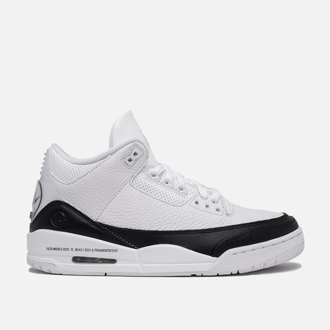 FRAGMENT X AIR JORDAN 3 - WHITE / BLACK