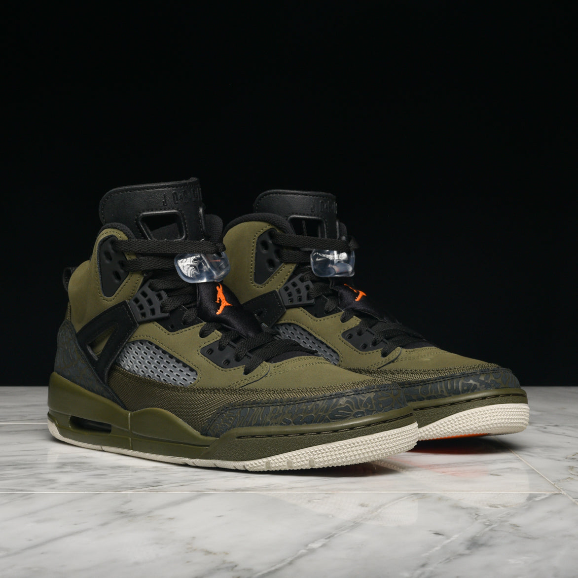 JORDAN SPIZ'IKE - OLIVE CANVAS / BLACK