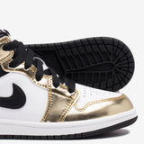 "AIR JORDAN 1 MID SE (PS) ""METALLIC GOLD"""