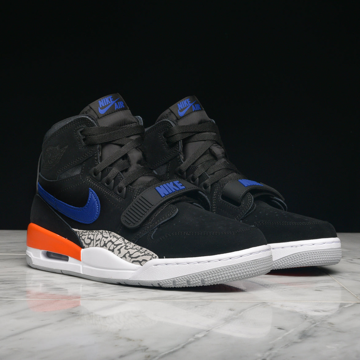 AIR JORDAN LEGACY 312 BLACK RUSH BLUE