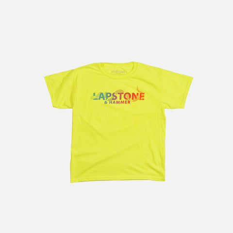 LAPSTONE KIDS UNITE TEE (YOUTH) - NEON